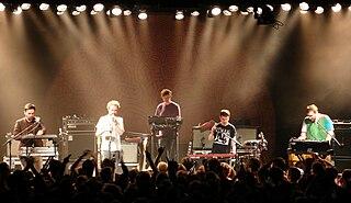 Hot Chip British electronic music band
