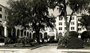 Historic Grand Hotels on the Mississippi Gulf Coast - Buena Vista Hotel, circa 1940