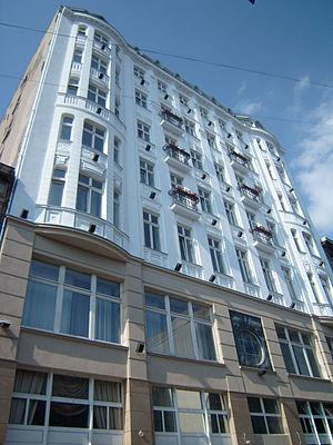 Hotel Savoy (novel) - Hotel Savoy after restoration
