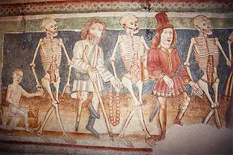 Danse Macabre - The Danse Macabre in the Holy Trinity Church in Hrastovlje, Slovenia
