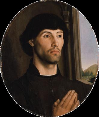 Hugo van der Goes - Portrait of a Man by Van der Goes