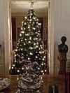 huis doorn met kerstmis