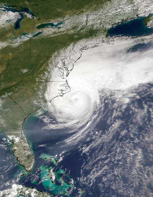 Hurricane Dennis (1999) - Image: Hurricane Dennis Aug 30 1999