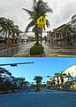 Hurricane Irma 2017 - Miami Beach - South Beach Washington Ave and 15th Street Before and After View South.jpg