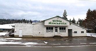 Huson, Montana - Image: Huson Mercantile in Huson Montana 2014