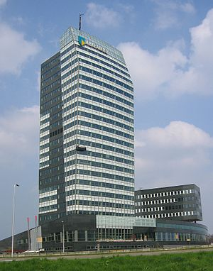 ABN AMRO - ABN AMRO Insurance headquarters in Zwolle.