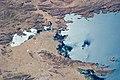 ISS-40 Lake Arapa (left) and Lake Titicaca.jpg