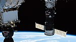 ISS-59 Soyuz MS-12 and Progress MS-11 docked to the ISS.jpg