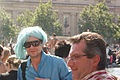 Ice-blue Warhol wig, London Pride 2008 (5981879617).jpg