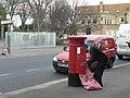 Iford, postbox No. BH7 235, Christchurch Road - geograph.org.uk - 676239.jpg