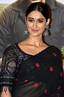 Ileana D'Cruz grace the trailer launch of Raid (16) (cropped).jpg