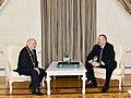 """Ilham Aliyev presented """"Heydar Aliyev"""" Order to People`s Artist Omar Eldarov 4.jpg"""