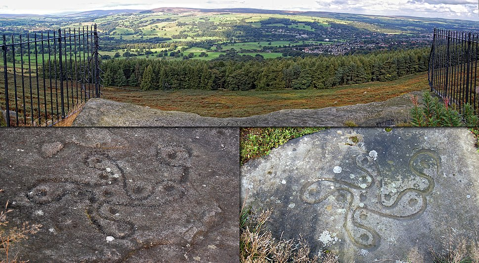 Ilkley Moor Swastika Stone