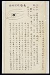 Illustration from Ming Chinese ophthalmology text, Ms copy Wellcome L0039708.jpg