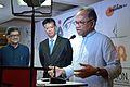 Imdadul Haq Milon Addresses - Apeejay Bangla Sahitya Utsav Inauguration - Kolkata 2015-10-10 4924.JPG