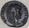 Impero, gallieno, medaglione di bronzo (roma), 262 ca..JPG