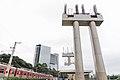 Início de obras Estação de Integração Morumbi - Monotrilho - Linha 9 CPTM (Marginal Pinheiros) (39589327784).jpg