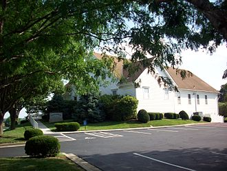 Church of Christ (Temple Lot) - Headquarters building (built in 1990) at Temple Lot