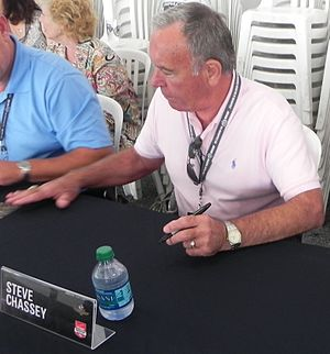 Steve Chassey - Chassey at the 2014 Indianapolis 500.