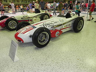 1959 Indianapolis 500 - Winning car of the 1959 Indianapolis 500