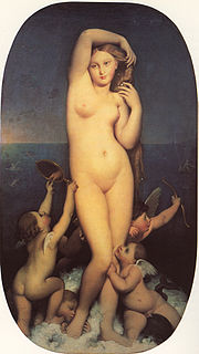 <i>Venus Anadyomene</i> (Ingres) painting by Jean-Auguste-Dominique Ingres