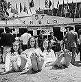 Inschrijving 57e Internationale vierdaagse van Nijmegen De dertienjarige drieli, Bestanddeelnr 926-5494.jpg