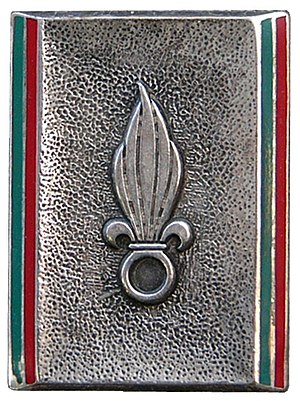 Structure of the French Army - Badge of the COM LE.