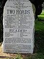 Interesting stone in Nonington churchyard - geograph.org.uk - 402785.jpg