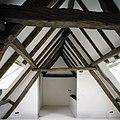 Interieur, overzicht van de kapconstructie op de tweede verdieping - Oirschot - 20387637 - RCE.jpg