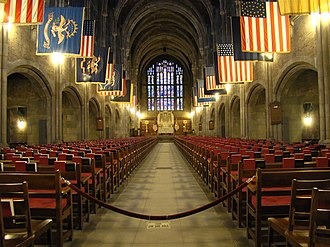 West Point Cadet Chapel - Image: Interior of West Point Cadet Chapel