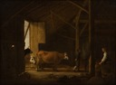 Interior of a Cowshed (Aelbert Cuyp) - Nationalmuseum - 21493.tif