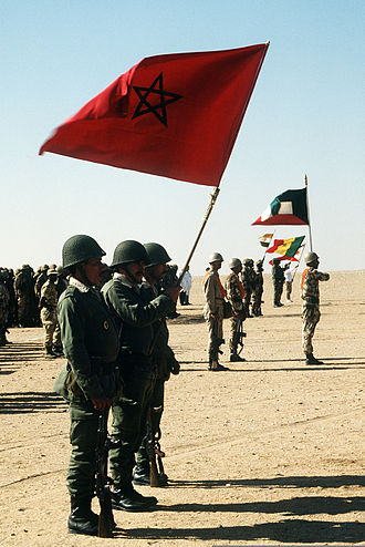 Royal Moroccan Army - International coalition forces united against Saddam Hussein during Operation Desert Storm.