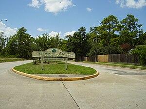 Inwood Forest, Houston - Sign indicating the community