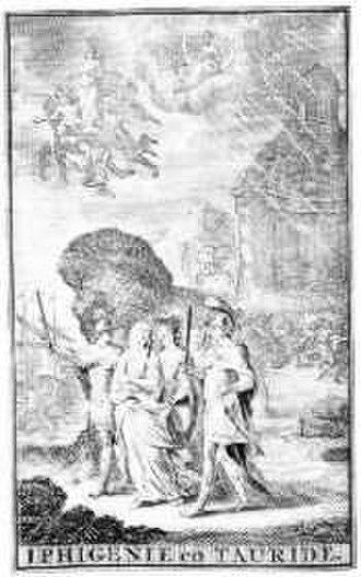 Iphigénie en Tauride (Desmarets and Campra) - Cover of the original libretto of Iphigenie en Tauride (1696)