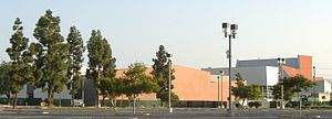 Irvine Valley College - IVC construction in 2008