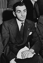 Irving Berlin, one of the most prolific composers and lyricists of the Great American Songbook.