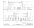 Isaac Smith Farmhouse, Upper Hollow and Pine Lawn Roads, Melville, Suffolk County, NY HABS NY,52-MELV,1- (sheet 2 of 3).png