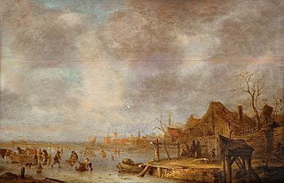 A winter's day outside Haarlem