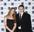 Isabel Kingsley and Kabir McNeely at the premiere of The Lies We Tell.png