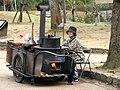 Ishi yakiimo vendor by MShades in Nara.jpg