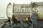 Ishikawajima-Harima XJ3 turbojet engine compressor section left side view in Yamato Museum May 6, 2019.jpg