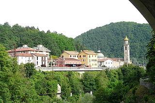 Isola del Cantone Comune in Liguria, Italy