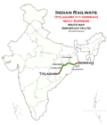Ispat Express (Howrah - Titlagarh) route map.png
