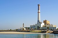 Israel-04543 - Reading Power Station and Lighthouse (33621884866).jpg