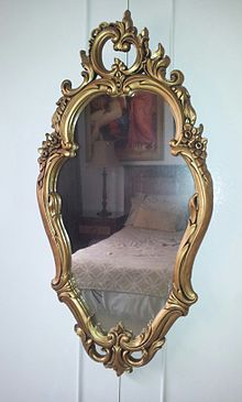 Hair Style Mirror : Italian mirror showcasing typical Rococo design with Asymmetrical ...