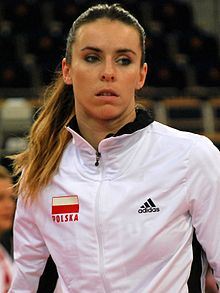 Izabela Bełcik 01 - FIVB World Championship European Qualification Women Łódź January 2014.jpg