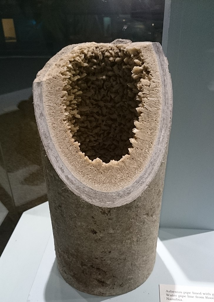 File Iziko Mineral Asbestos Pipe Jpg Wikimedia Commons