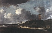 J.I. van Ruisdael - Strandtafereel, mogelijk bij Egmond - NK2591 - Frans Hals Museum.jpg