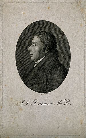 Johann Jacob Roemer - Johann Jacob Roemer. Portrait by  Johann Heinrich Lips