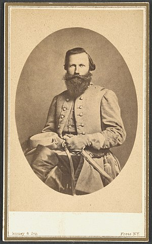 Battle of Dranesville - Brigadier General J. E. B. Stuart